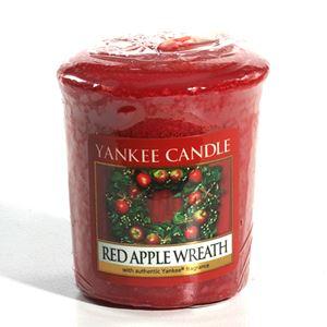 Bild von Red Apple Wreath Votives