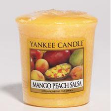 Bild von Mango Peach Salsa Votives
