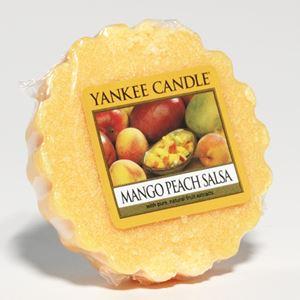 Bild von Mango Peach Salsa Tarts