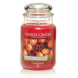 Picture of Mandarin Cranberry large Jar (gross/grande)