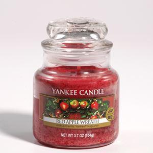 Bild von Red Apple Wreath small Jar (klein/petite)