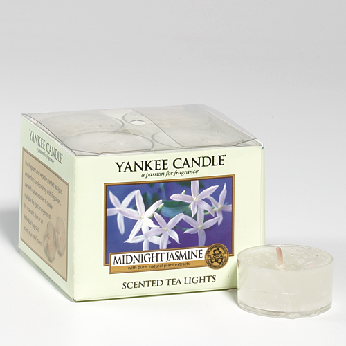 midnight jasmine tea lights yankee candle duftkerzen schweiz. Black Bedroom Furniture Sets. Home Design Ideas