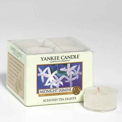 midnight jasmine tea lights yankee candle duftkerzen schweiz. Black Bedroom Furniture Sets. Home Design Ideas