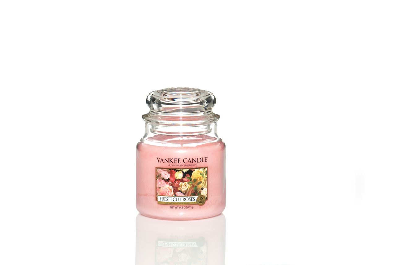 fresh cut roses small jar klein petite yankee candle duftkerzen schweiz. Black Bedroom Furniture Sets. Home Design Ideas