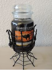 Picture of Halloween Spider Webs  Jar Holder