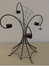 Bild von Halloween Spider Webs  Multi Tea Light Holder