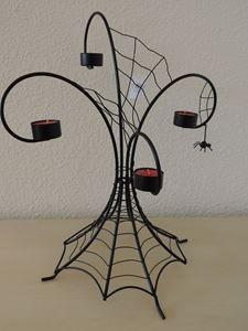 Picture of Halloween Spider Webs  Multi Tea Light Holder
