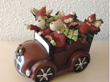 Picture of Merry Moose Car  Tea Light Holder