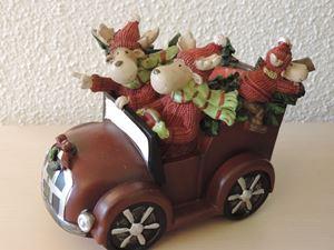 Picture of Merry Moose Car  Tea Light Holder
