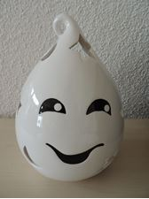 Bild von Halloween Ghost Wink  Tea Light Holder