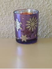 Picture of Purple Snowflake Bucket  Sampler Holder