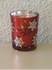 Picture of Ruby Snowflake Bucket  Sampler Holder
