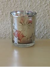 Picture of Silver Snowflake Bucket  Sampler Holder