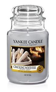 Bild von Crackling Wood Fire large Jar (gross/grande)
