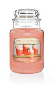 Picture of White Strawberry Bellini large Jar (gross/grande)
