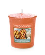 Picture of Grilled Peaches & Vanilla Votives