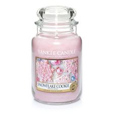 Picture of Snowflake Cookie lare Jar (gross/grande)